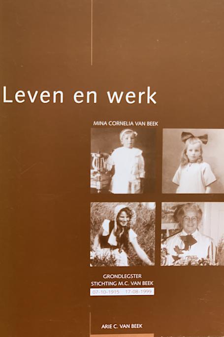 Leven en werk - Mina Cornelia van Beek